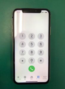 iPhone X 修理 宇都宮