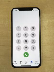 iPhone XS 画面修理後外観1